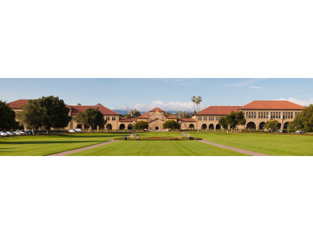 Stanford Oval May 2011 panorama image
