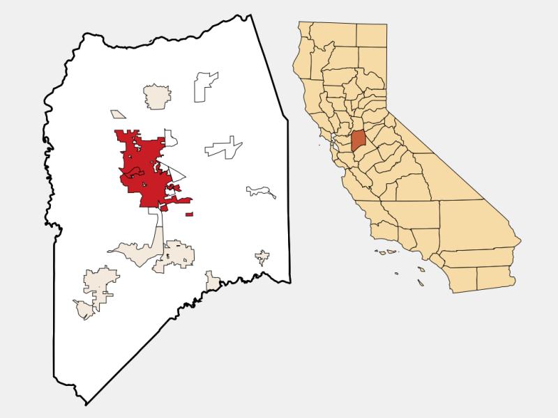 Stockton locator map