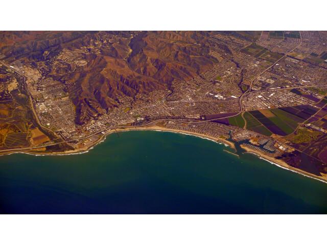 Ventura California Aerial Photo D Ramey Logan image