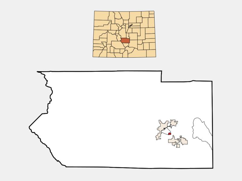 Brookside locator map