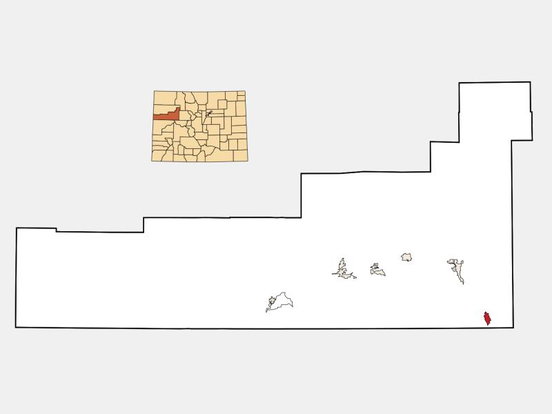 Carbondale locator map