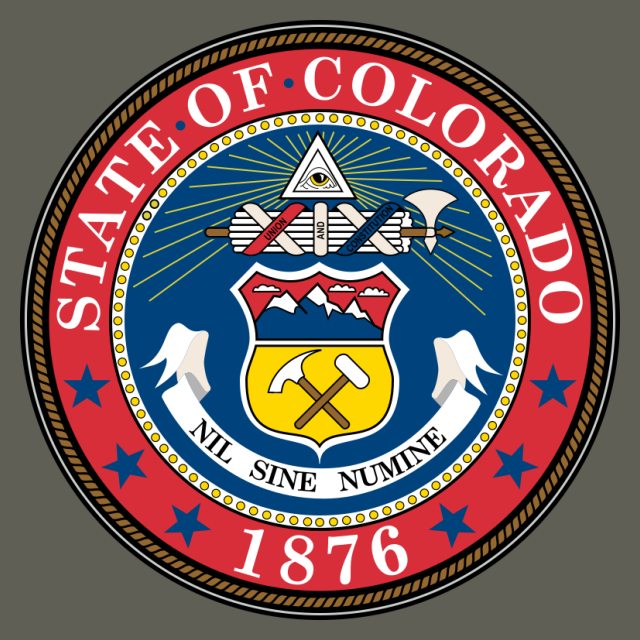 Seal of Colorado seal image