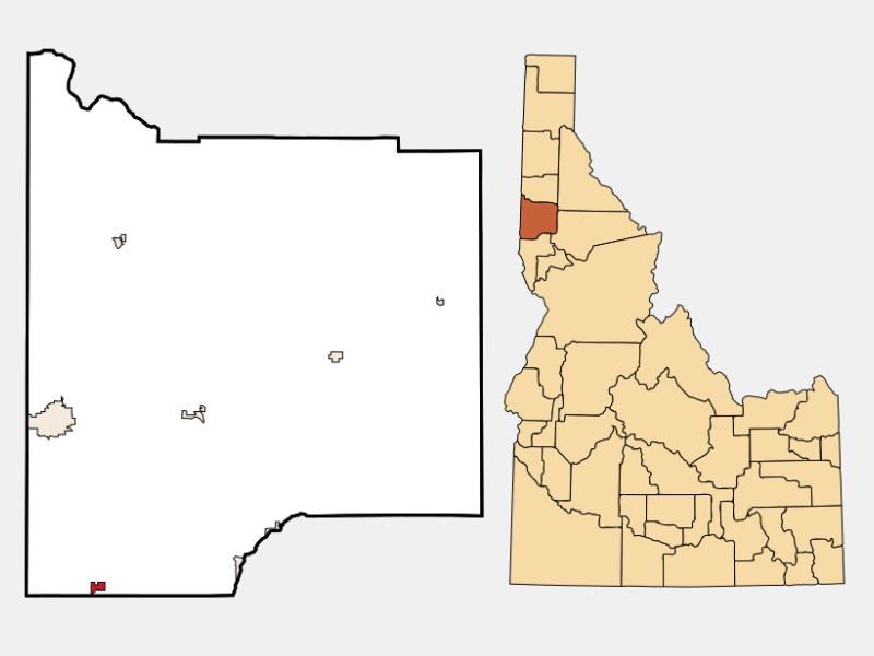 Genesee locator map