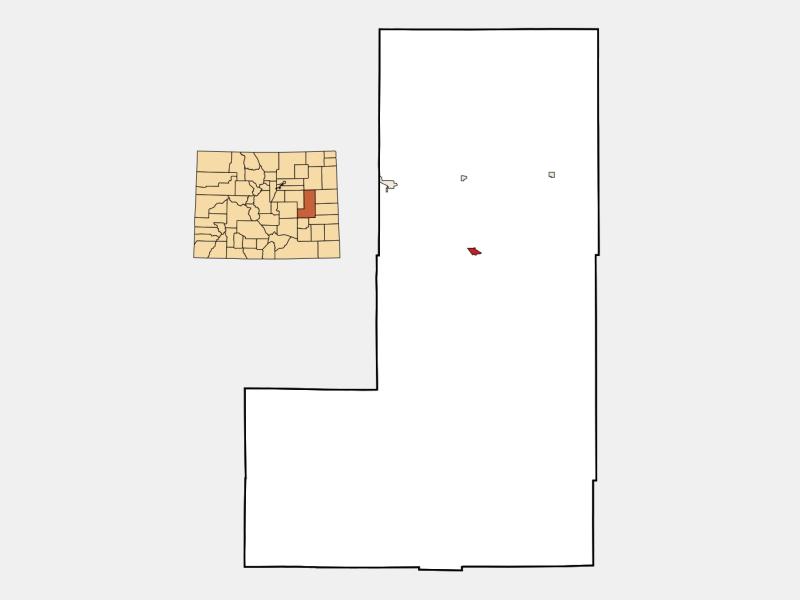 Hugo locator map