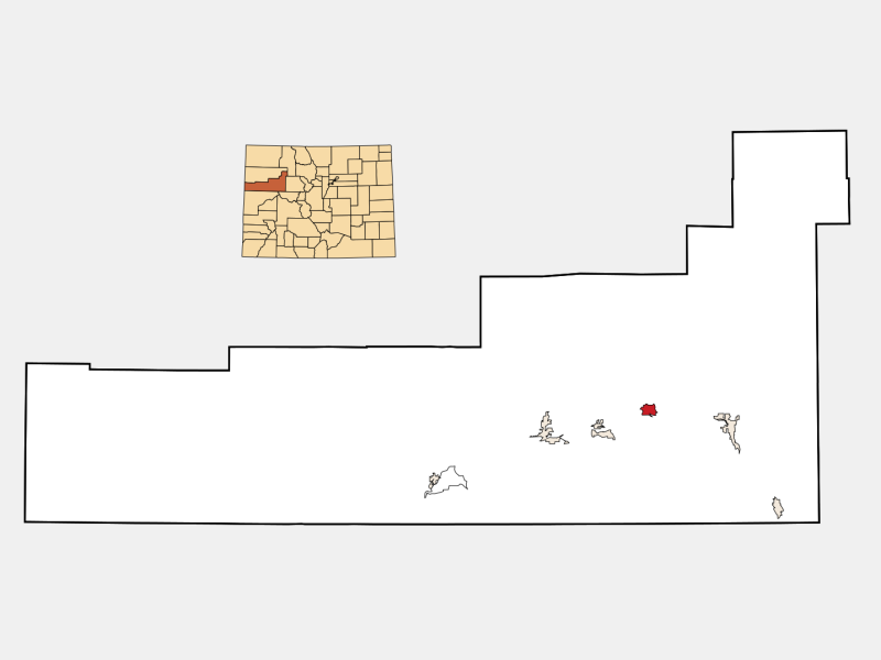 New Castle locator map