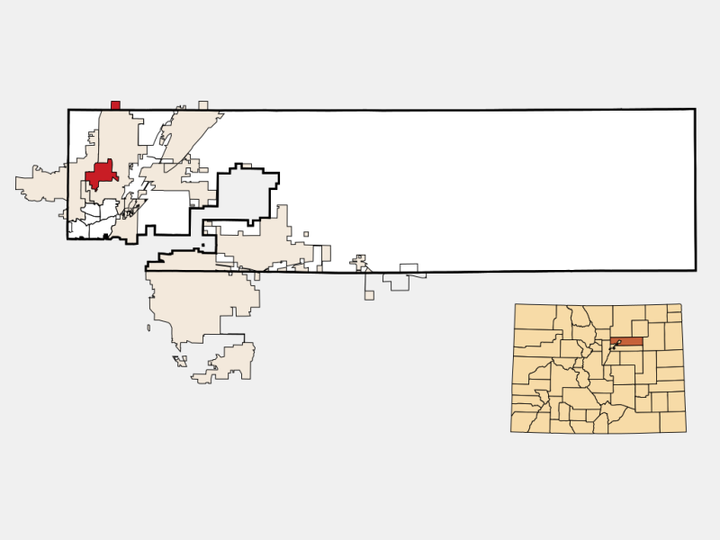 Northglenn location map