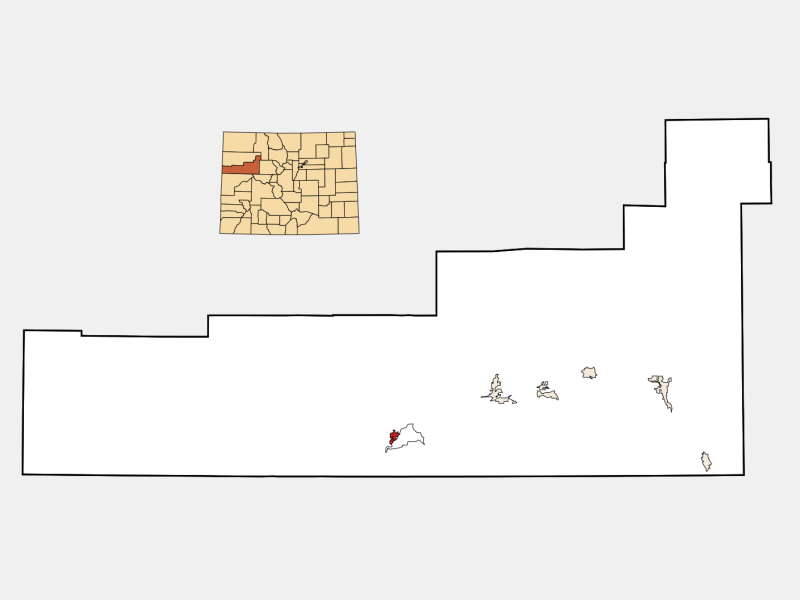 Parachute locator map