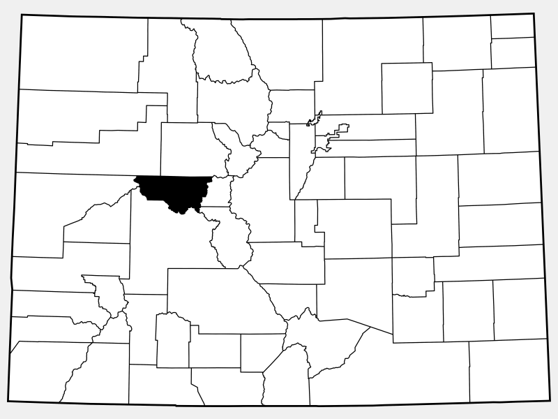Pitkin County locator map