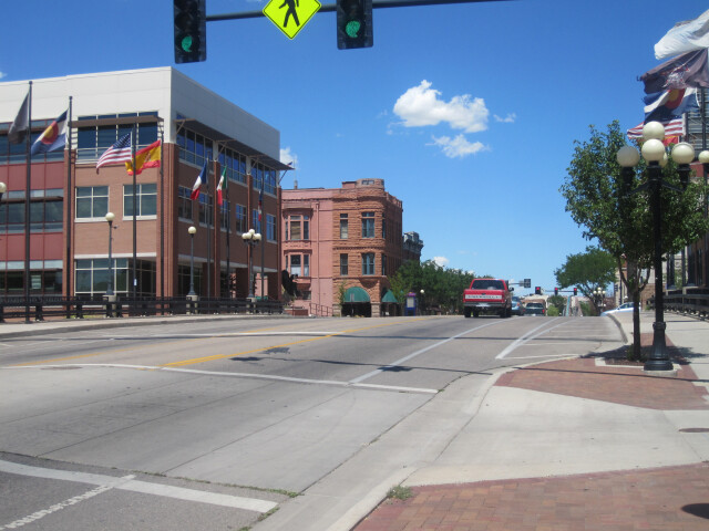 Glimpse of downtown Pueblo  CO IMG 5119 image