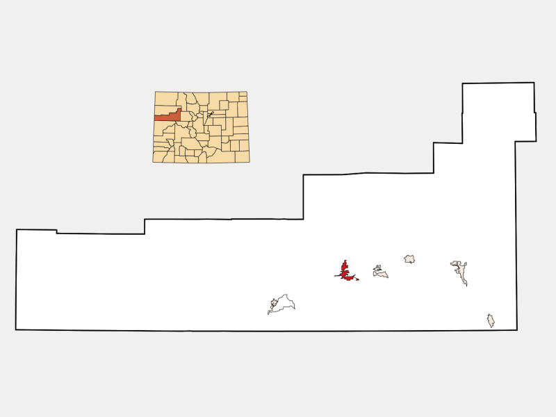 Rifle locator map
