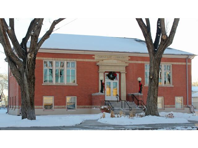 Carnegie Library 'Monte Vista  Colorado' image