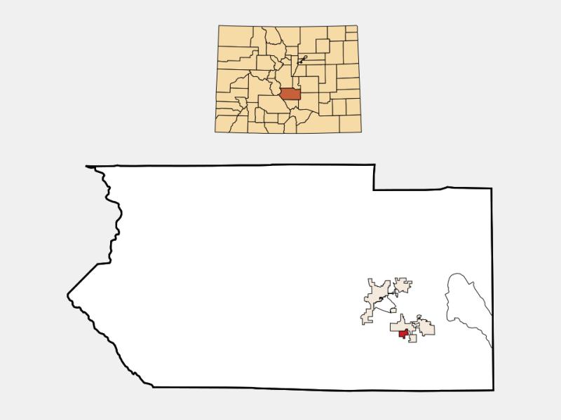 Rockvale locator map