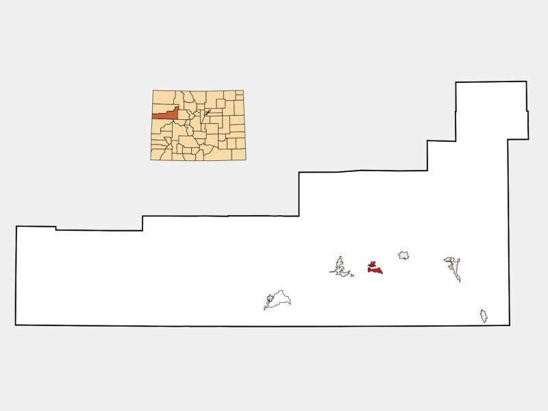 Silt locator map