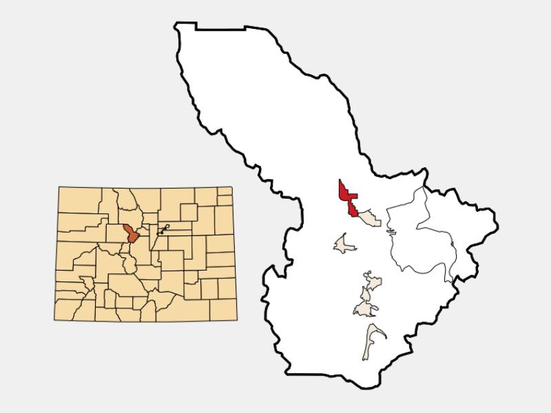 Silverthorne location map