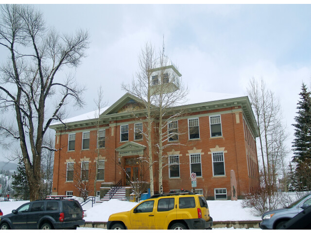 Summit County court house in Colorado image