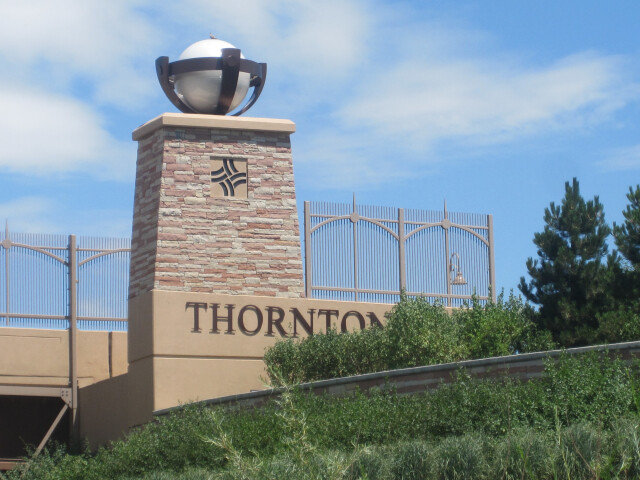 Thornton  CO  welcome sign IMG 5209 image