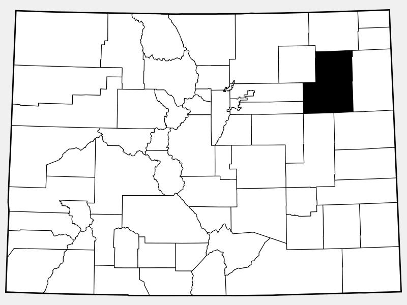 Washington County locator map