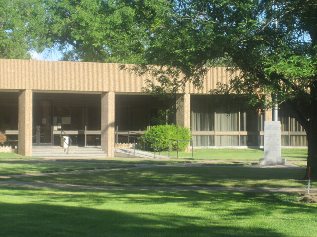 Haskell County  KS  Courthouse at Sublette  KS IMG 5961 image