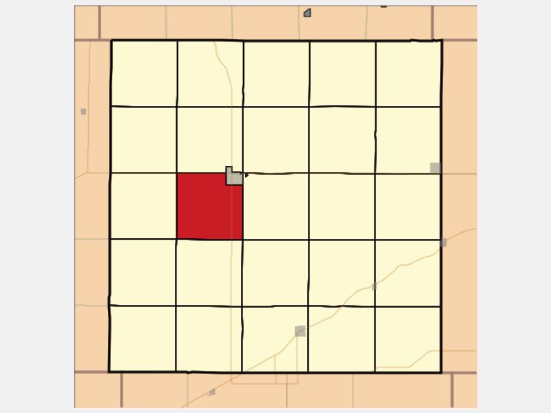 Oberlin location map
