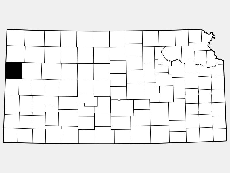 Wallace County location map
