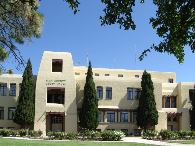 Eddy County New Mexico Court House image