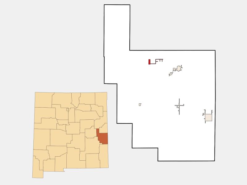 Floyd locator map