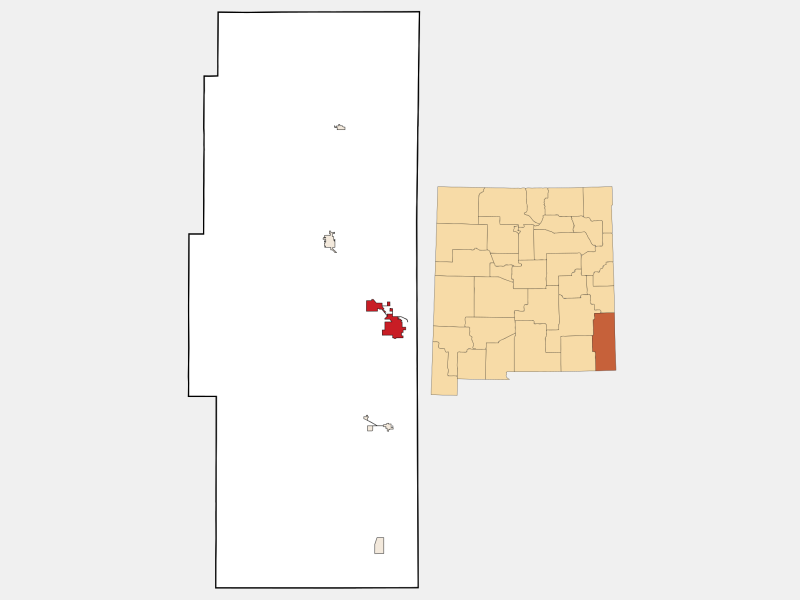 Hobbs locator map