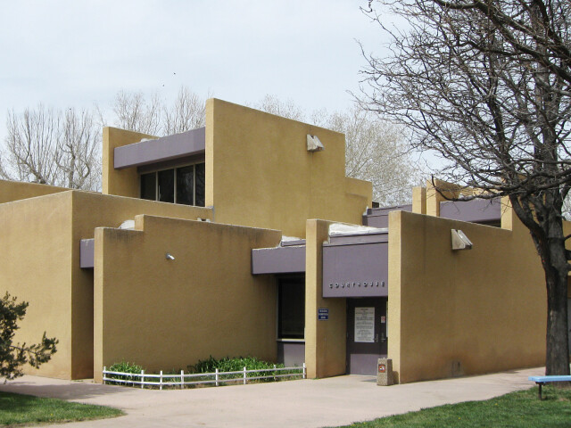 Taos County New Mexico Court House image