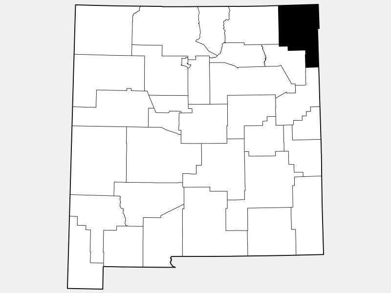 Union County locator map