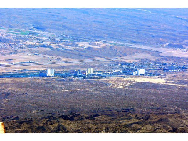 Laughlin Nevada from Spirit Mountain 2 image
