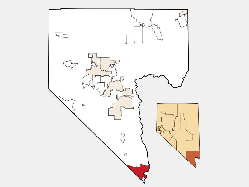 Laughlin locator map