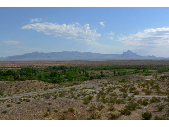 Mormon Mountains from Moapa Valley image