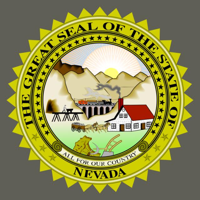 Seal of Nevada seal image