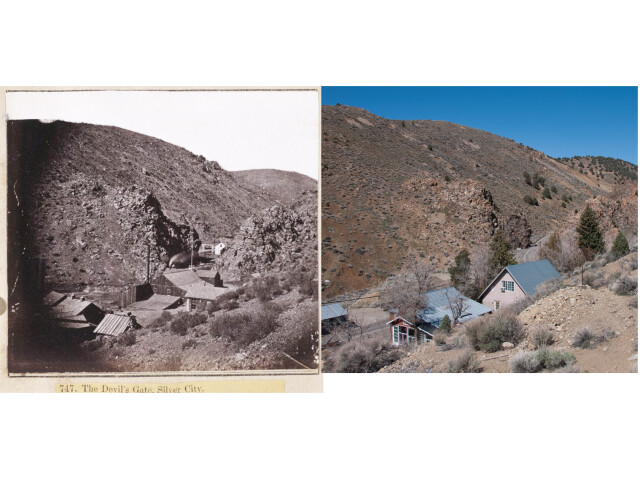 Devils Gate and Siver City  NV image