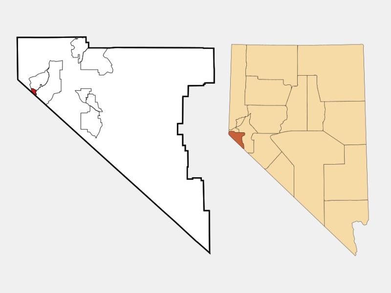 Stateline locator map