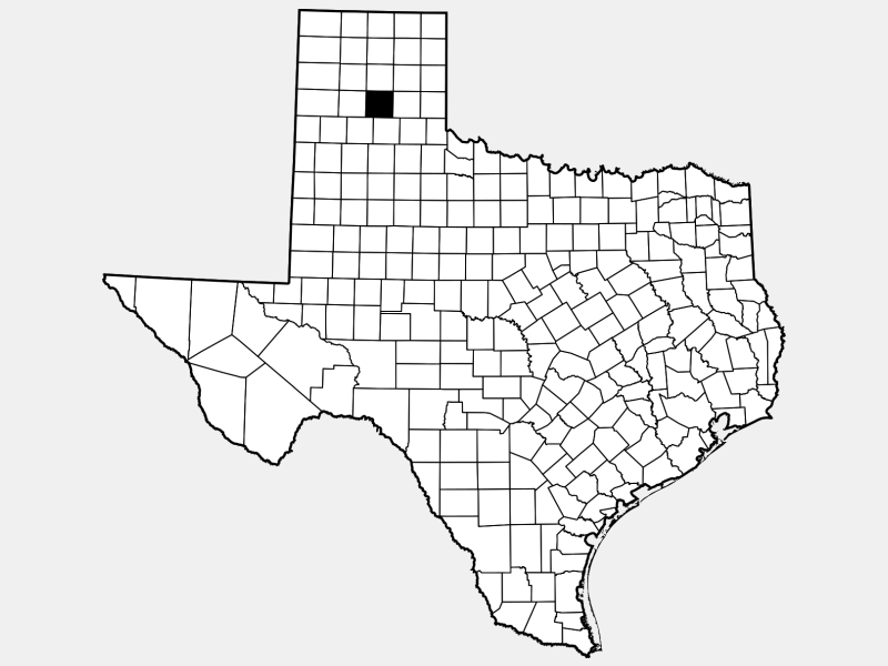 Armstrong County locator map