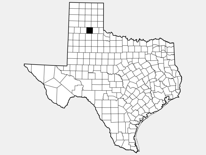 Briscoe County locator map