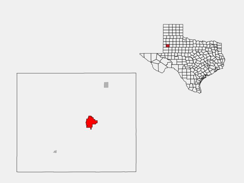 Brownfield locator map