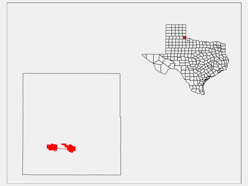 Childress location map