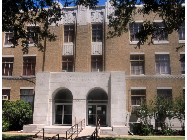 Collingsworth County  TX  Court House  IMG 6175 image