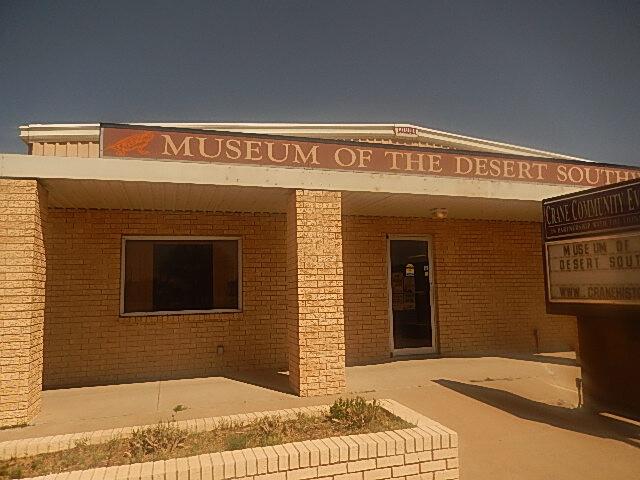 Museum of the Desert Southwest  Crane  TX DSCN1136 image
