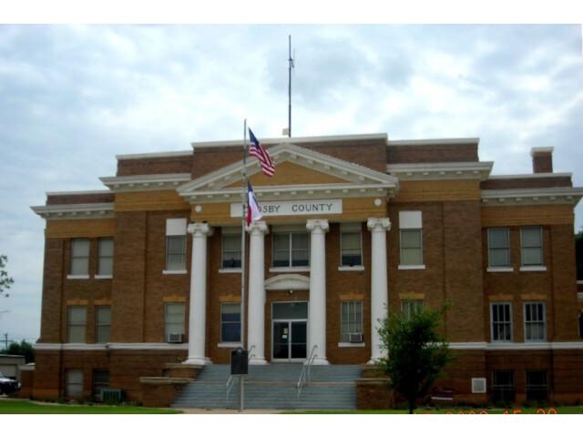Crosbyton01 courthouse image