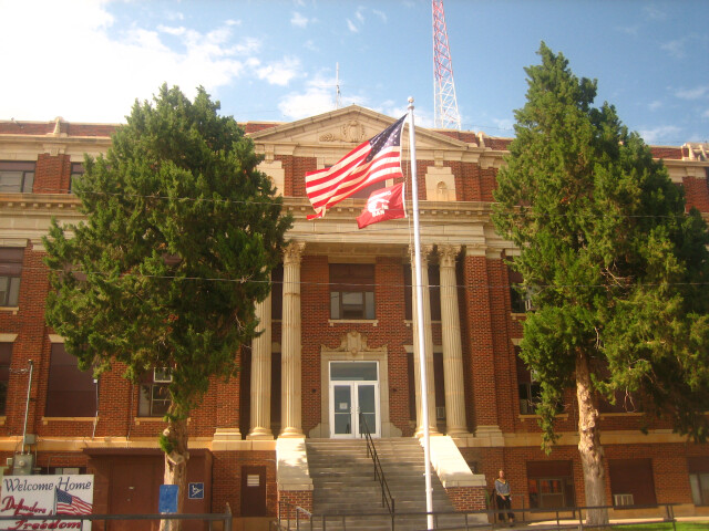 Hall County Courthouse  Memphis  TX image