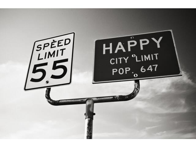 Happy Texas sign 8-23-2011 image