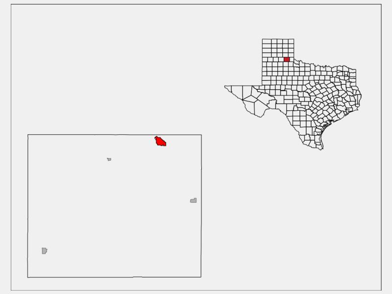 Memphis locator map