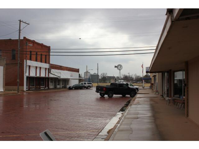 Merkel Street in Merkel Texas 3-15-2014 image