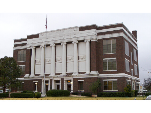 Mitchell county courthouse 2009 image