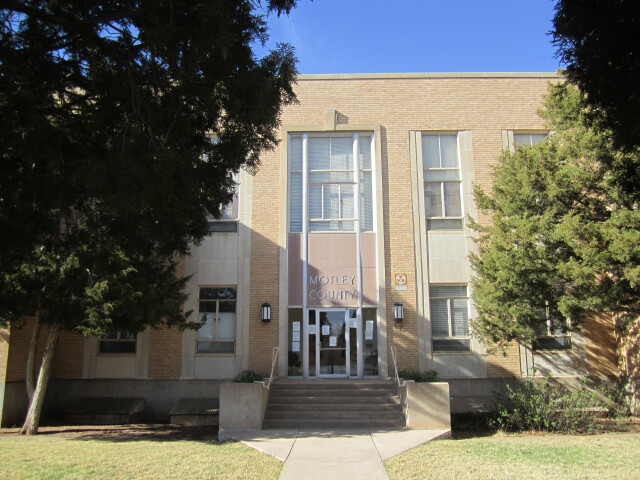 Motley County  TX  Courthouse IMG 1544 image