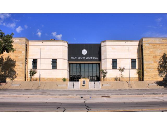 Nolan County Texas Courthouse 2015 image