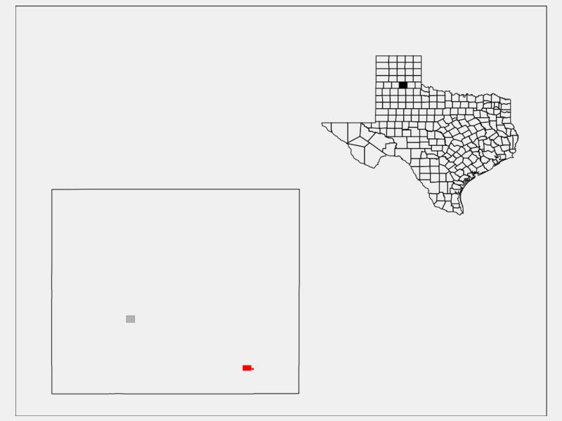 Quitaque locator map